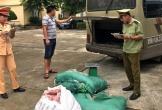 """Thanh Hóa: Phát hiện 2,6 tạ thịt, da lợn đã bốc mùi """"làm thượng đế"""" trên xe khách"""