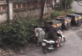 Clip chàng trai mặc váy đổ rác bị sàm sỡ từ phía sau: Có phạt 200 ngàn?
