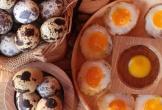 Trứng cút và những công dụng bất ngờ