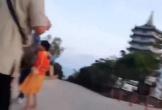 Người đàn ông bắt trộm khỉ trên bán đảo Sơn Trà mặc cho cả đàn lao theo đòi con