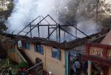 Cháy rụi tăng xá trong ngôi chùa cổ 1.400 năm tuổi