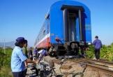 Tàu hỏa SE7 trật đường ray, đường sắt Bắc-Nam tê liệt