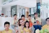 Ngọc Trinh khoe hình ảnh cùng gia đình đón Tết trong biệt thự triệu đô