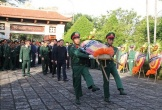 Thanh Hóa: Xúc động lễ viếng 2 liệt sỹ hy sinh khi giúp dân khắc phục hậu quả lũ lụt