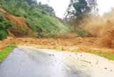 Video khoảnh khắc kinh hoàng sạt lở núi ở Quảng Nam