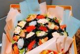 Độc lạ 20/11 năm nay: Bó hoa sushi