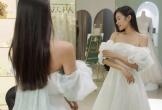 Doãn Hải My lộ ảnh thử váy cưới, Đoàn Văn Hậu được dân tình 'réo tên'