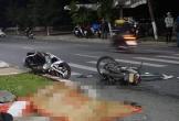 Thanh niên chạy xe máy tốc độ cao tông chết người qua đường