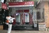 Agribank Thanh Hóa thực hiện sát khuẩn các máy ATM