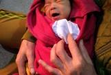 Bé trai sơ sinh bị bỏ rơi tại tịnh xá Ngọc Lai