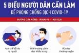 Bộ Y tế khuyến cáo 3 việc cần tránh giúp giảm nguy cơ mắc COVID-19