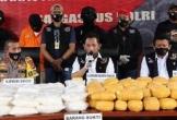 Indonesia bắt giữ 821kg ma túy đá
