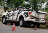 Hai ôtô va chạm vào nhau khiến hai người thiệt mạng