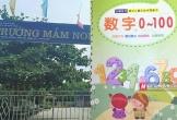 Quảng Bình: Cho học sinh mầm non viết chữ Trung Quốc từ nguồn không chính thống, một giáo viên bị đình chỉ