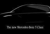 Mercedes-Benz 'nhá hàng' MPV hoàn toàn mới T-Class