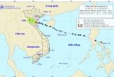 Bão số 2 đã suy yếu thành áp thấp nhiệt đới đi vào các tỉnh Ninh Bình-Thanh Hóa