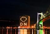Đà Nẵng: Khách sạn đồng loạt lên đèn hình trái tim giữa mùa dịch