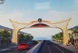 Chi gần 14 tỷ đồng xây cổng chào vào TP Đồng Hới, tỉnh Quảng Bình