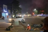 Hai thanh niên đánh võng tóe lửa trên đường và cái kết đầy đau thương