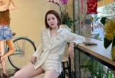 Hotgirl Trâm Anh khiến nhiều người 'đỏ mặt' khi diện quần siêu ngắn