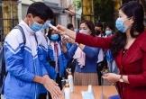 Ngày đầu đi học lại sau Tết: Học sinh Thanh Hoá đeo khẩu trang, ngồi giãn cách
