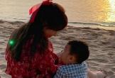 Hòa Minzy lần đầu khoe khoảnh khắc hạnh phúc cùng chồng con: Quý tử Bo để lộ một góc gương mặt kháu khỉnh