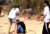 Nhóm nữ sinh đánh nhau ở nghĩa trang