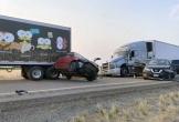 22 xe đâm liên hoàn trên cao tốc Mỹ, một gia đình 5 người chết hết cả 5