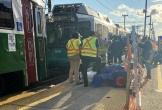 Hai đoàn tàu đâm nhau ở Boston, hơn 20 người bị thương
