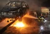 Gần 40 ôtô bị cháy do sét đánh