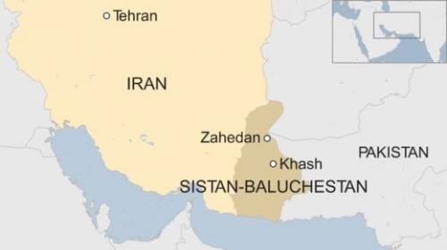 Khu vực nơi diễn ra vụ đánh bom